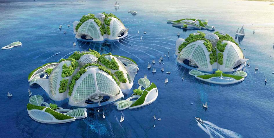 «Город будущего»Аэквория в Бразилии