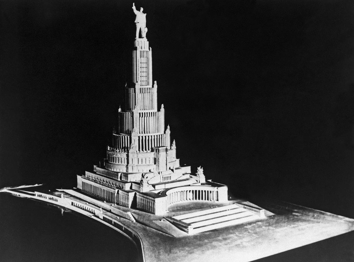 Макет Дворца Советов в Москве, 1934 год