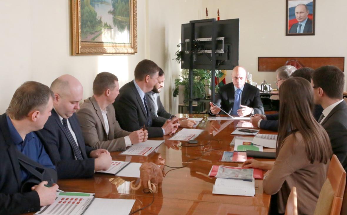 Фото: пресс-служба Липецкой областной администрации