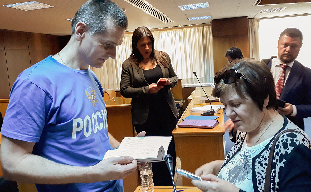 Александр Винник с матерью Верой Винник