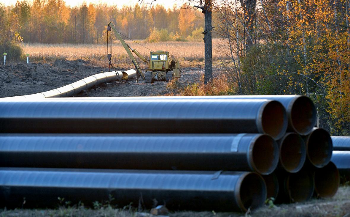 Ремонтные работы на газопроводе Ямал— Европа