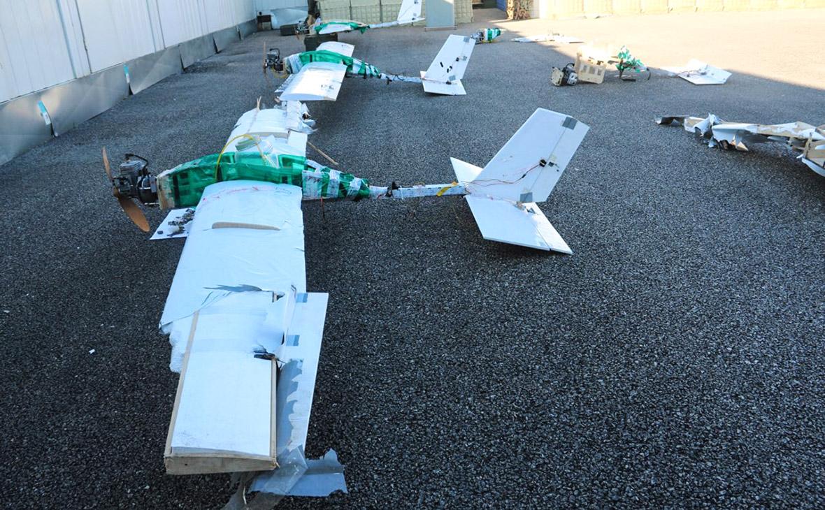 Беспилотные летательные аппараты, участвовавшие в атаке на российские военные объекты в Сирии