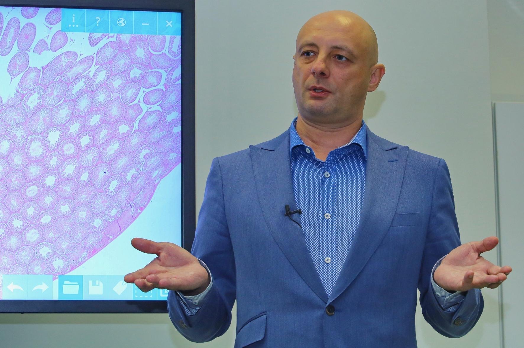 Генеральный директор компании «Биовитрум» Владимир Цимберг