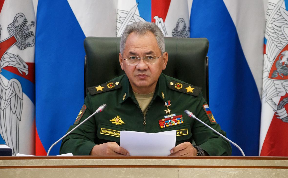 Шойгу заявил о силах НАТО у границ России и катастрофе в Афганистане
