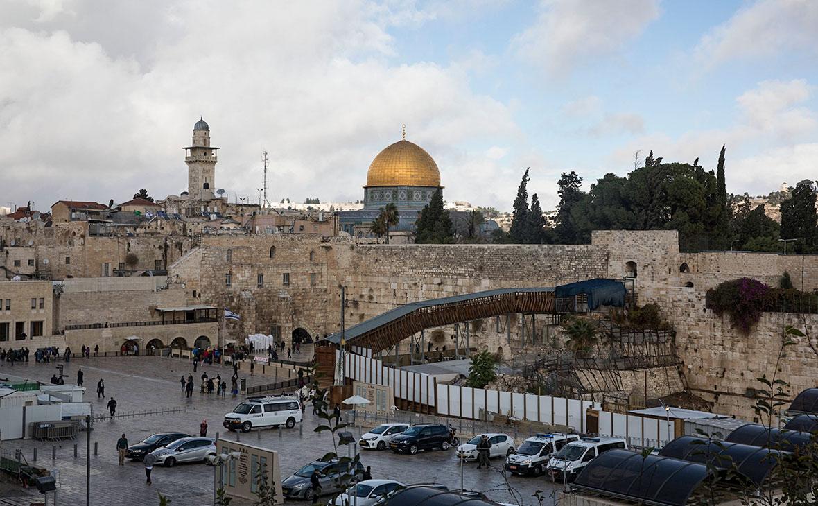 Западная стена в Старом городе Иерусалима