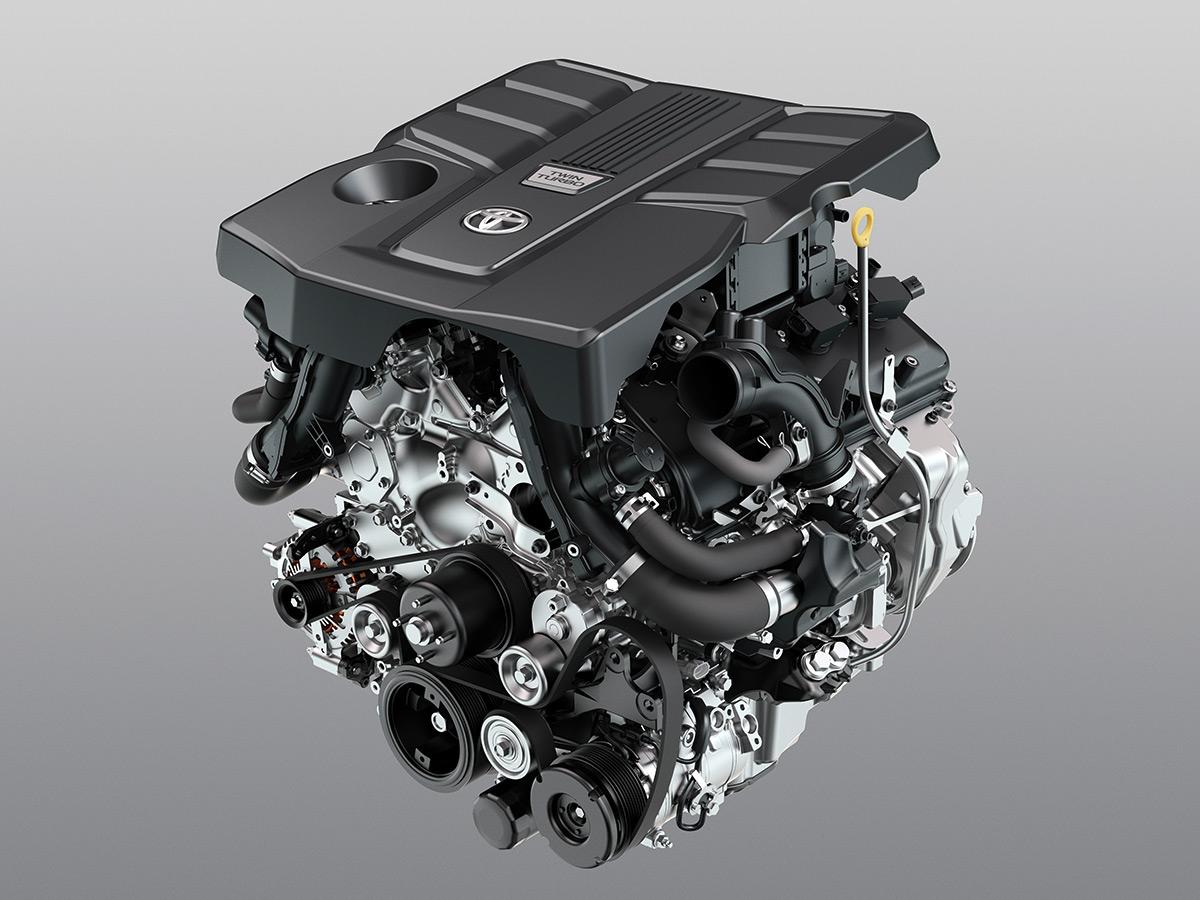 Новый мотор Land Cruiser 300