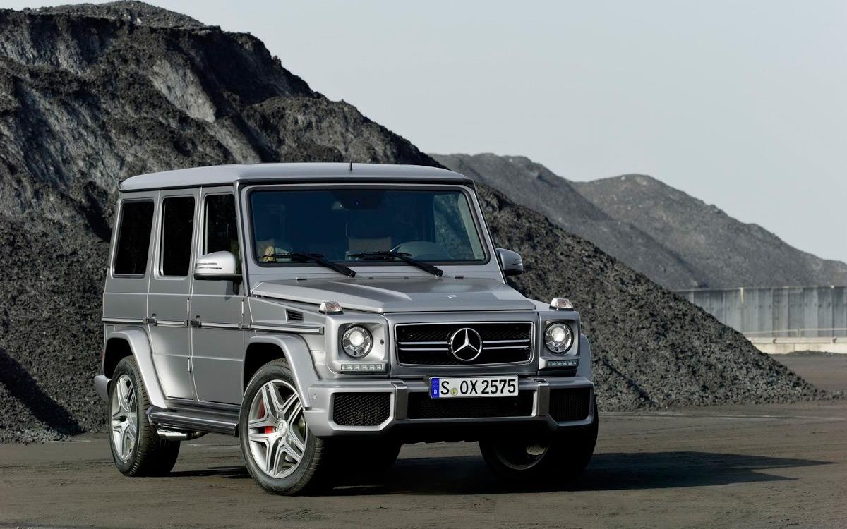 <p>Mercedes-Benz G63 AMG</p>