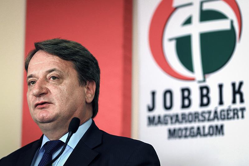 Член Европарламента от венгерской партии Jobbik Бела Ковач