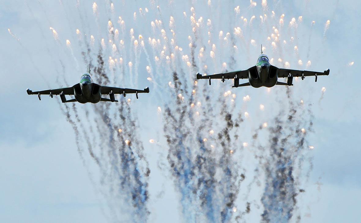 Самолеты Як-130 ВВС Белоруссии