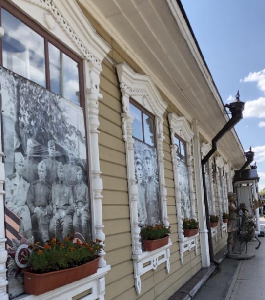 Здание расположено на ул. Советской