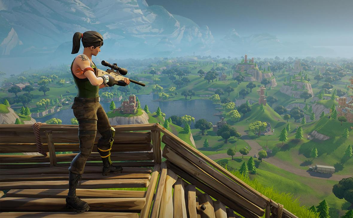 Скриншот из игрыFortnite