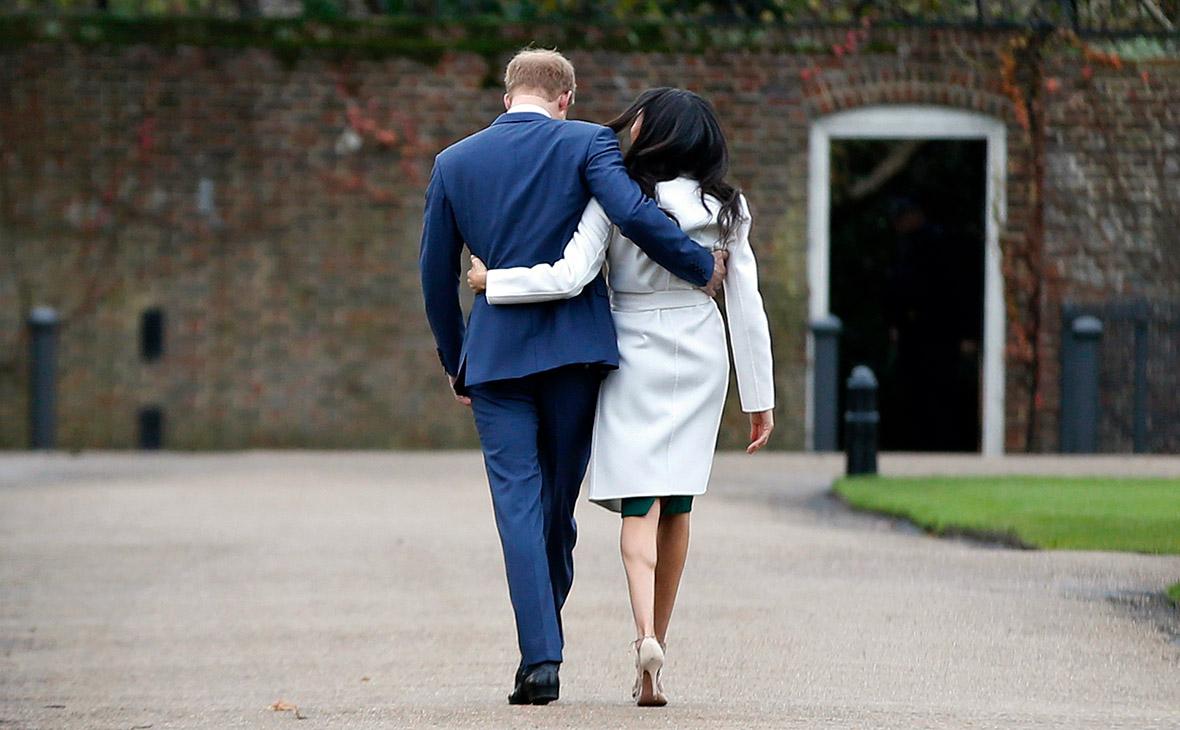 Принц Гарри и его жена Меган Маркл
