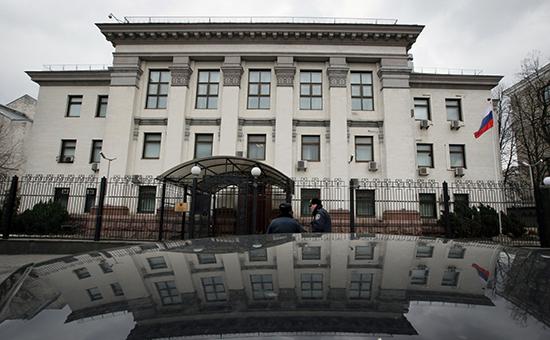 Здание посольства России в Киеве