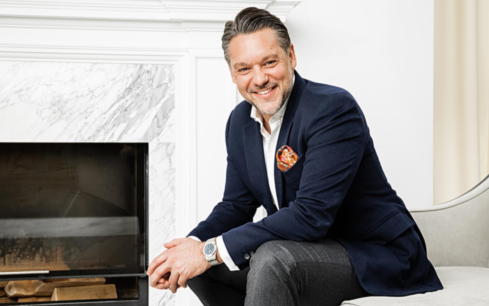 Кай Винклер, управляющий отелем Fairmont Moscow и сервисными апартаментами Fairmont & Vesper Residences