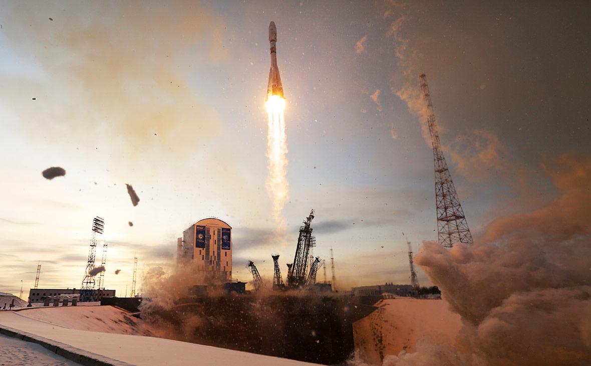Запуск ракеты-носителя «Союз-2.1б» на космодроме Восточный. 28 ноября 2017 года