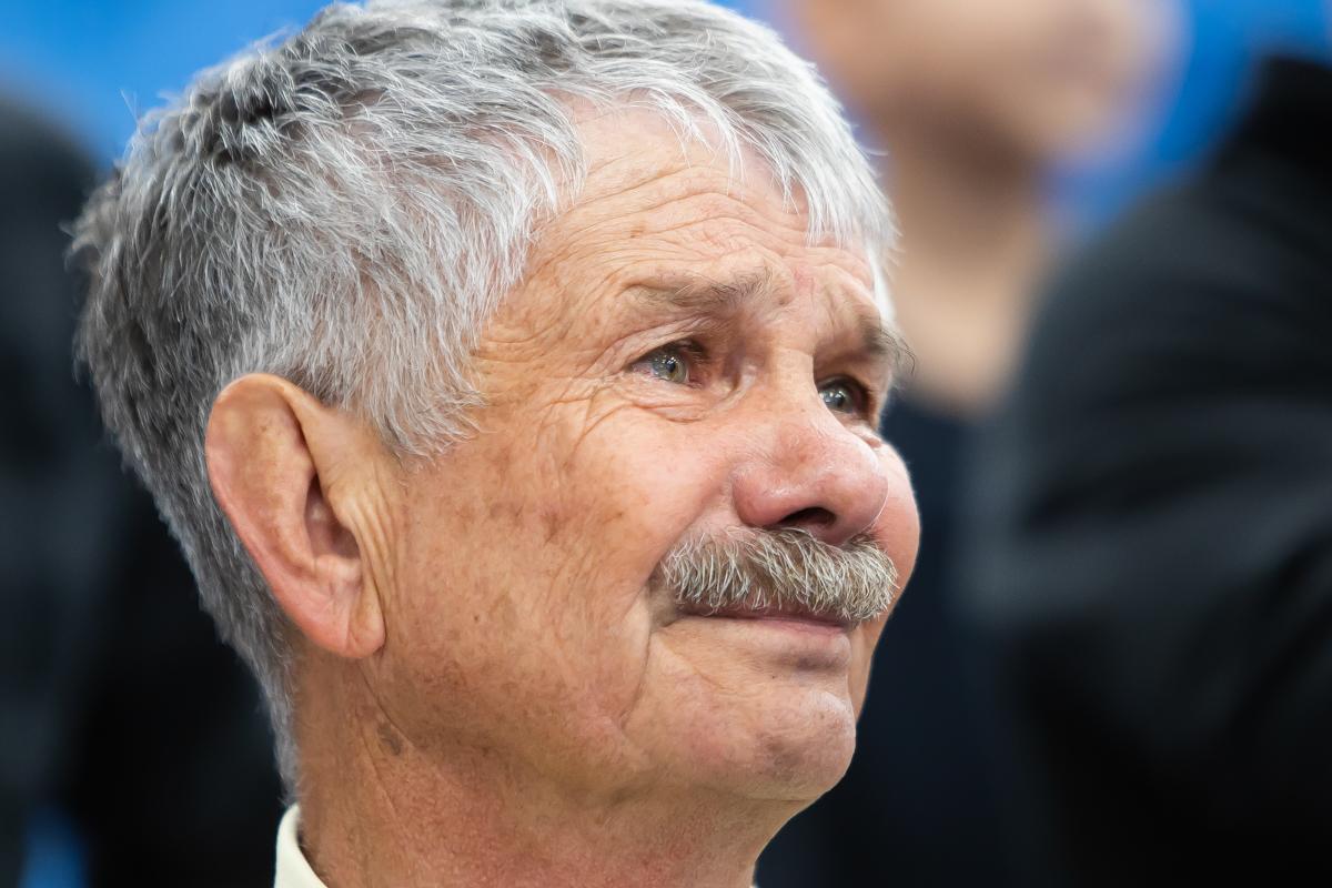 Владимир Хромов после победы Мусы Евлоева на Олимпиаде в Токио.