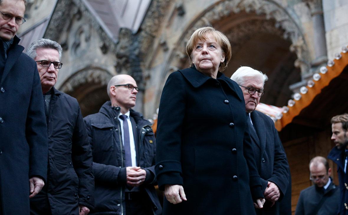 Ангела Меркель и Франк-Вальтер Штайнмайер. Декабрь 2016 года