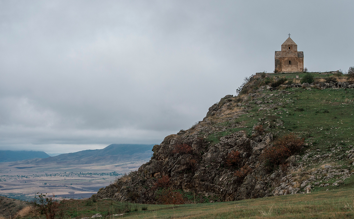 Церковь Ванкасар на территории историко-культурного заповедника «Тигранакерт»