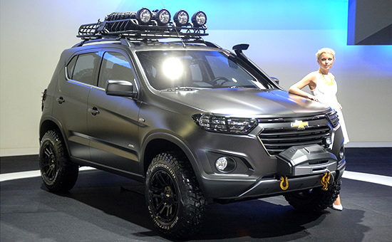 Chevrolet Niva Сoncept на Московском международном автосалоне 2014