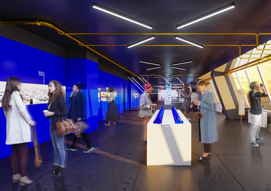 Проект экспозиции, посвященной истории высотной застройки Москвы