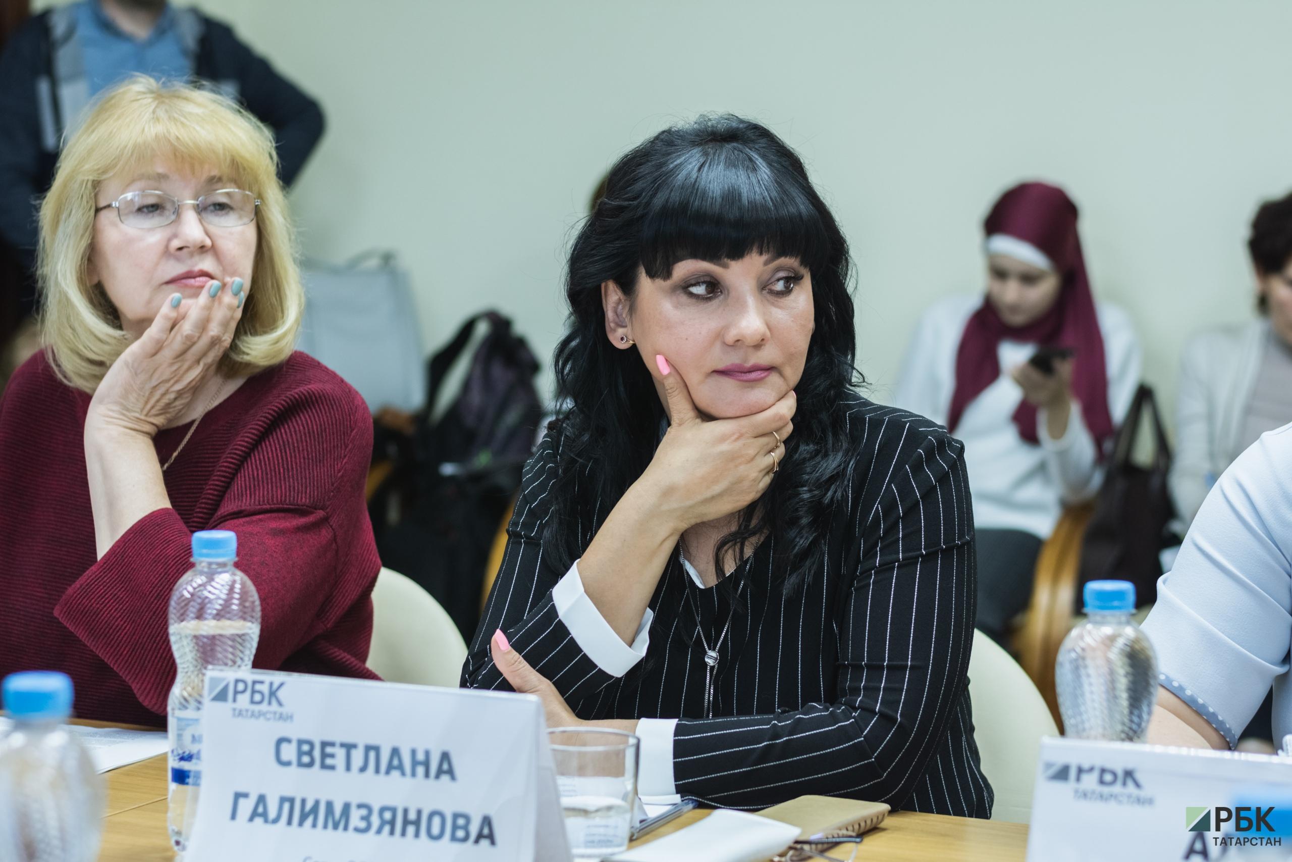 справа: Светлана Галимзянова(сеть «Эссен»)