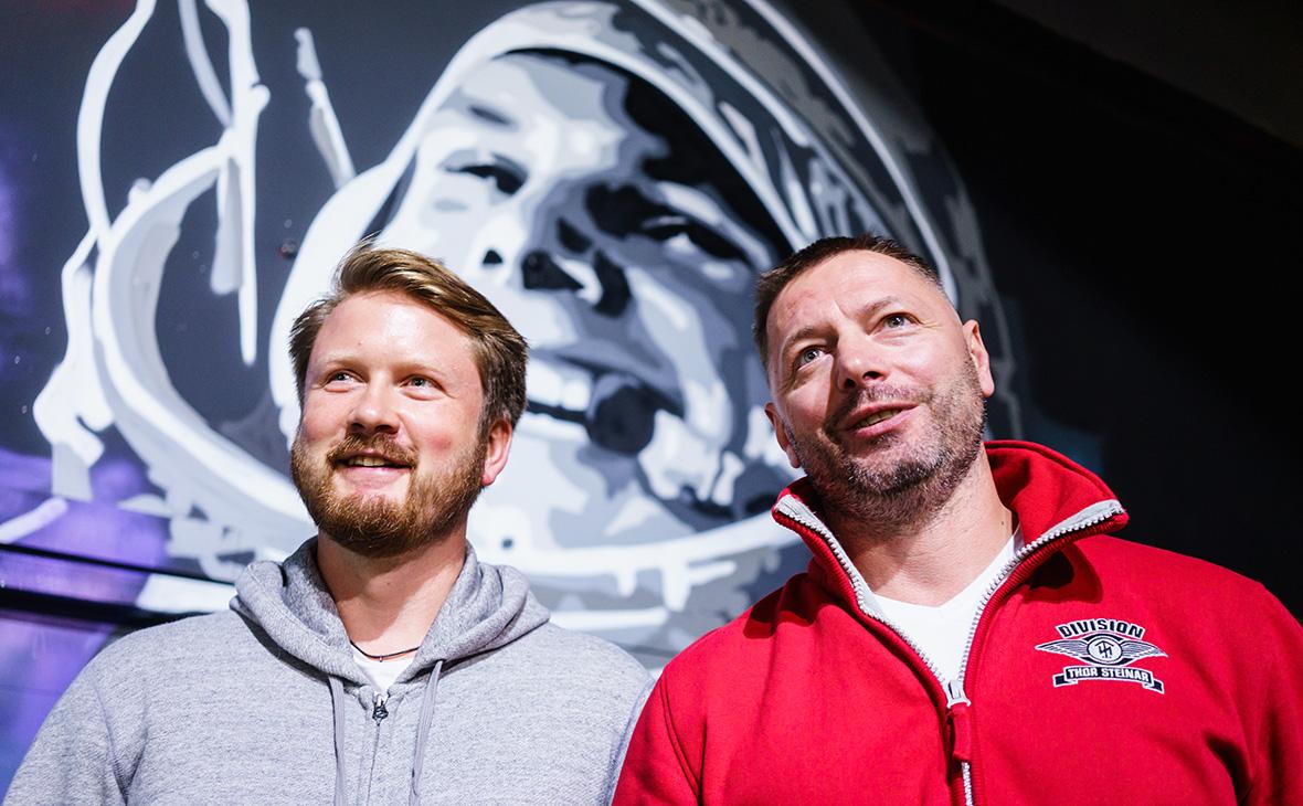 Дмитрий Сободарев(справа) и Андрей Соловьев
