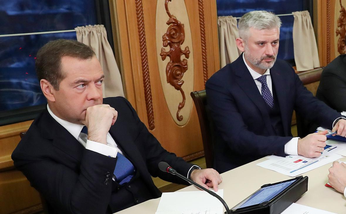 Дмитрий Медведев и Евгений Дитрих
