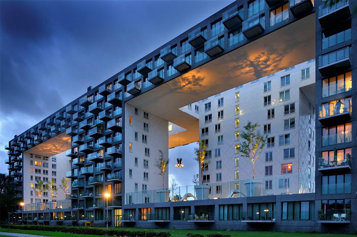 Жилой комплекс Parkrand в Амстердаме