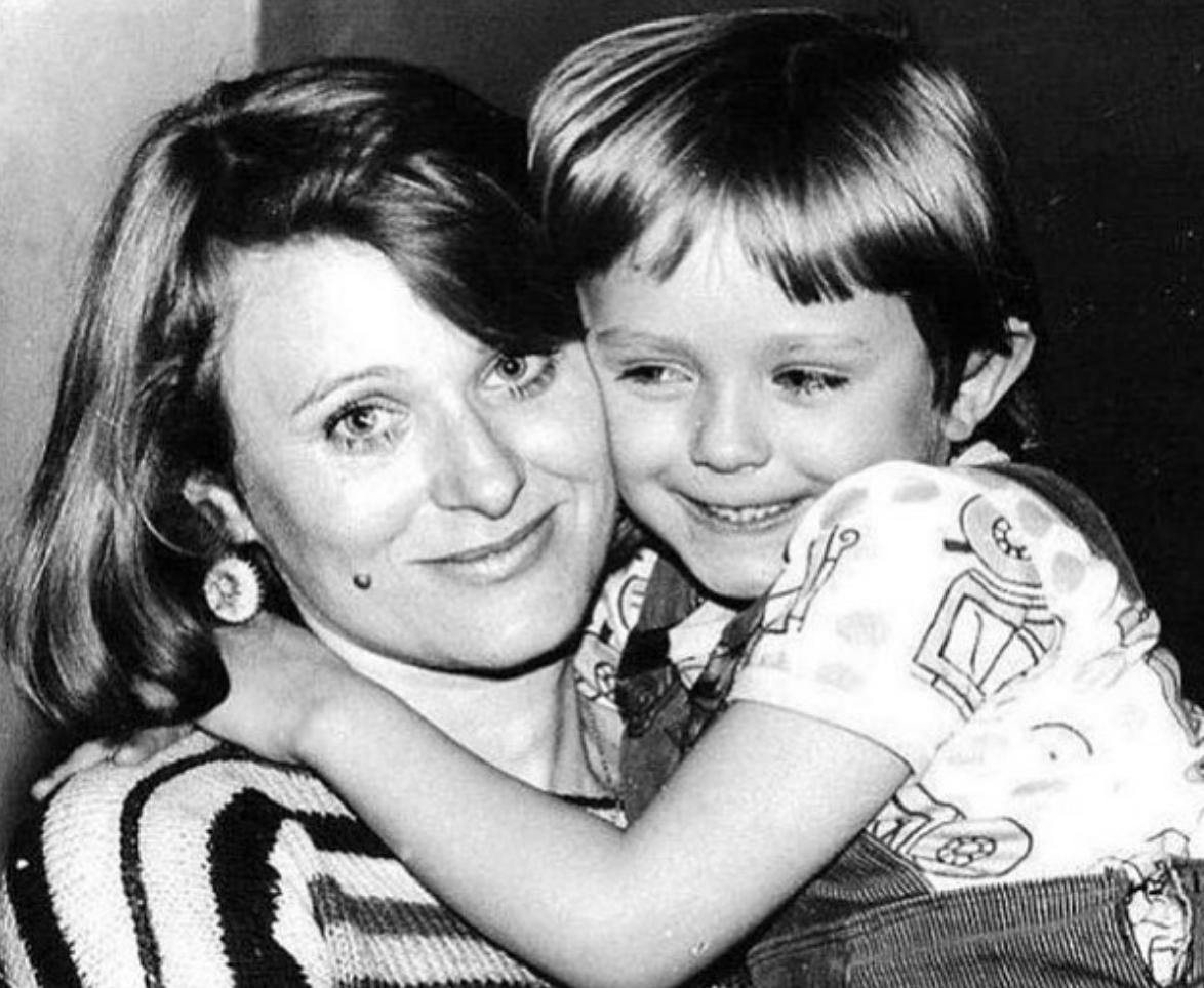 Юлия Началова с мамой