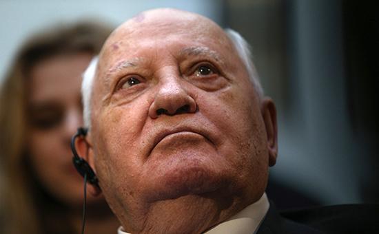 Первый и последний президент Советского Союза Михаил Горбачев