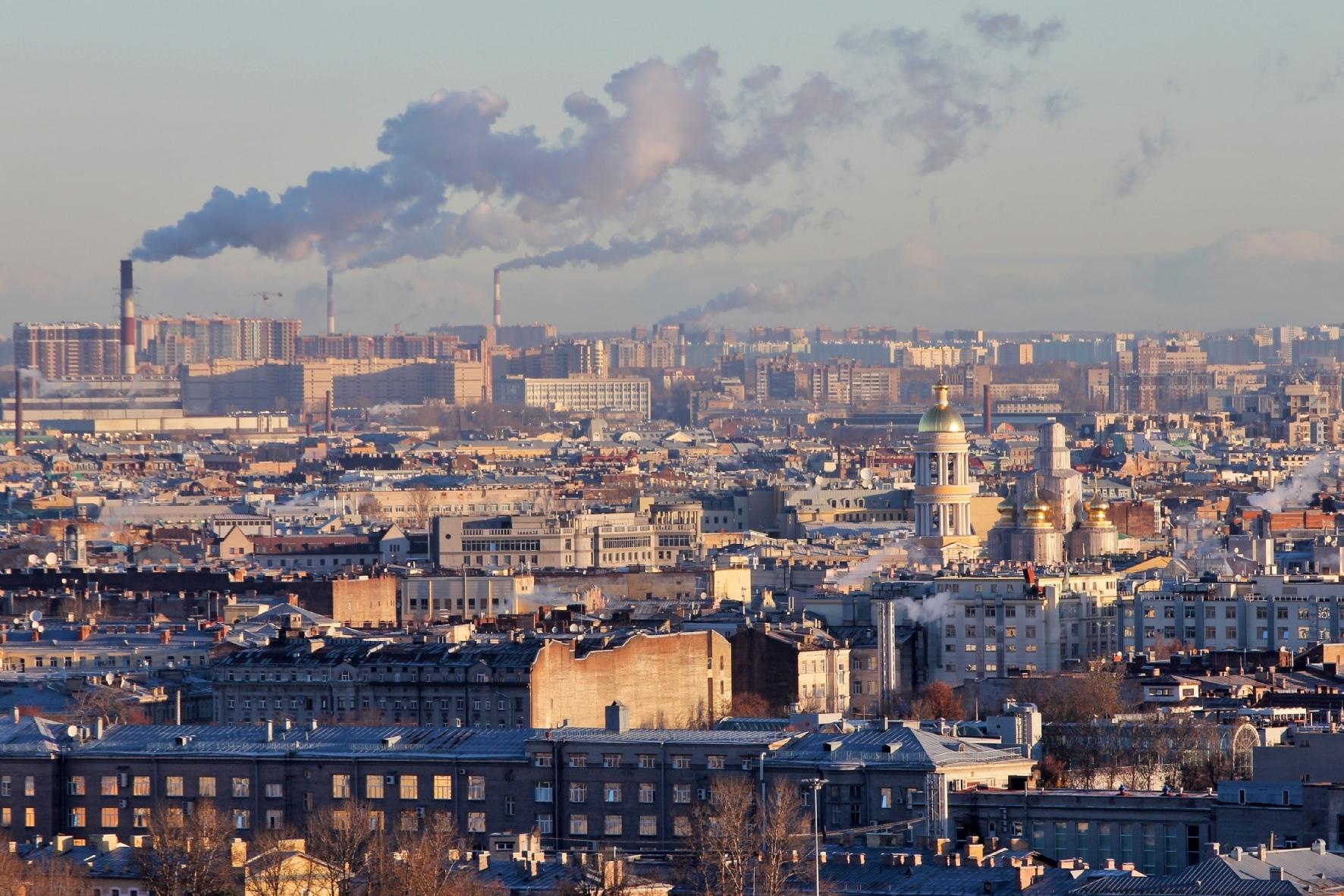 Воздух Фрунзенского района признали самым грязным