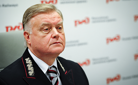 Президент ОАО «РЖД» Владимир Якунин