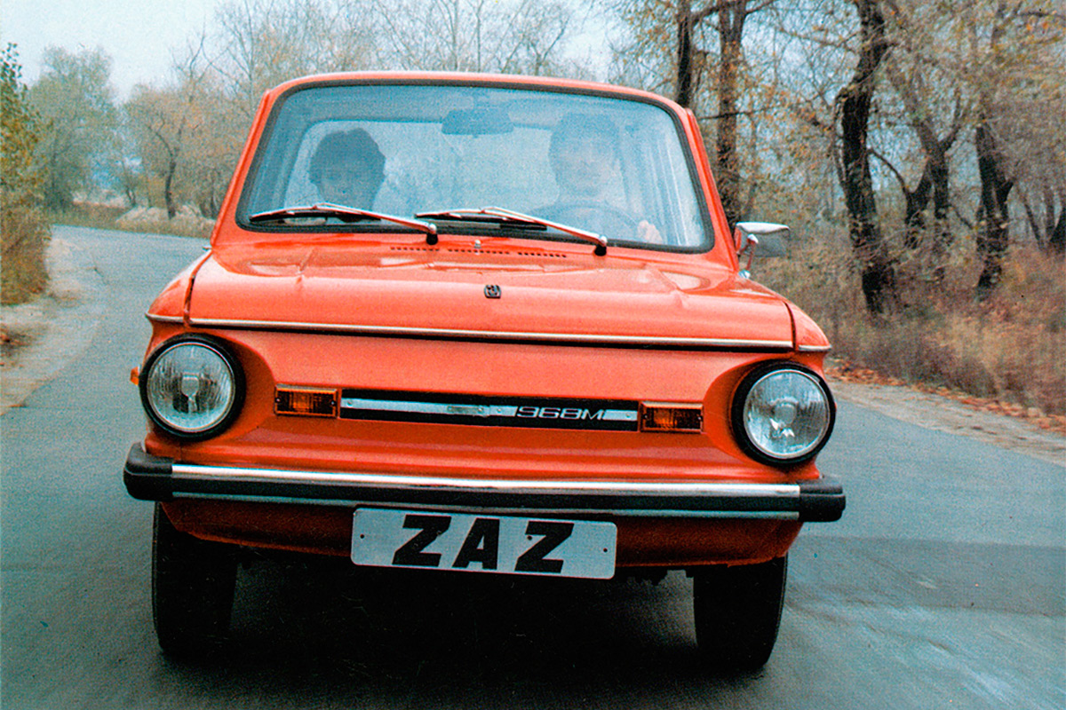 <p>ЗАЗ-968М &laquo;Запорожец&raquo;</p>