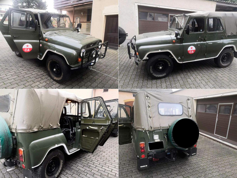 УАЗ-469 из Саксонии