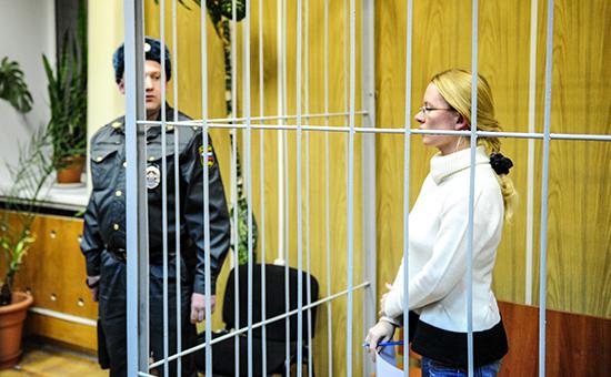 Экс-глава коммерческой организации ЦПП «Эксперт» Екатерина Сметанова, обвиняемая вмошенничестве по «делу «Оборонсервиса»