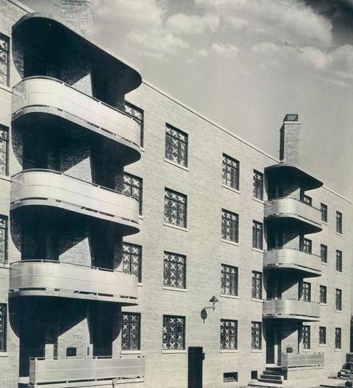 Жилой комплекс Trumbull Park, Чикаго. 1938 г.