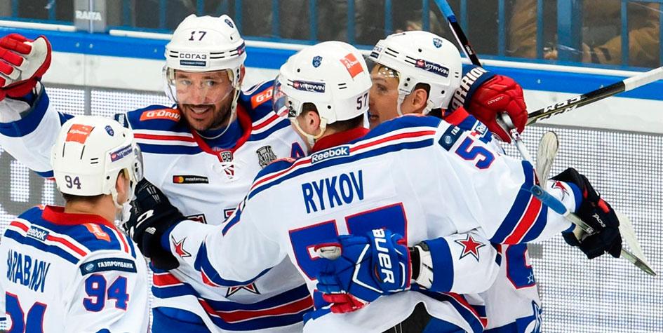 СКА вышел вперед в четвертьфинальной серии Кубка Гагарина
