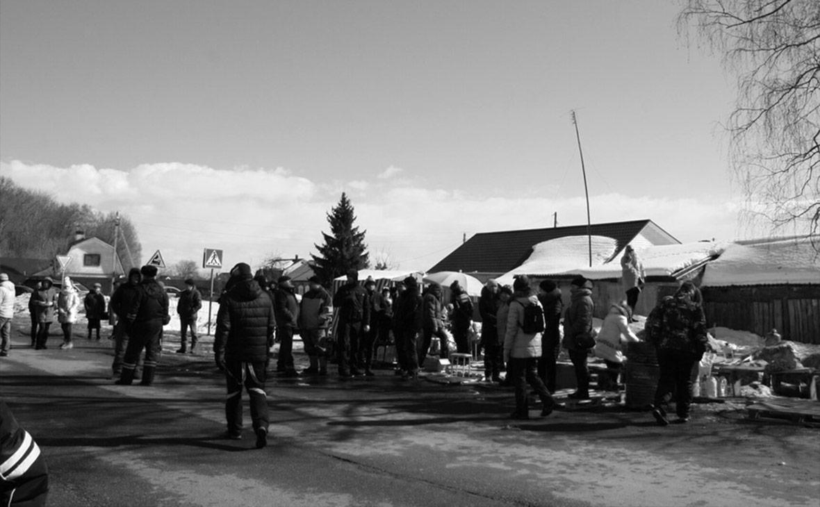 Протест против мусорного полигона «Воловичи» под Коломной