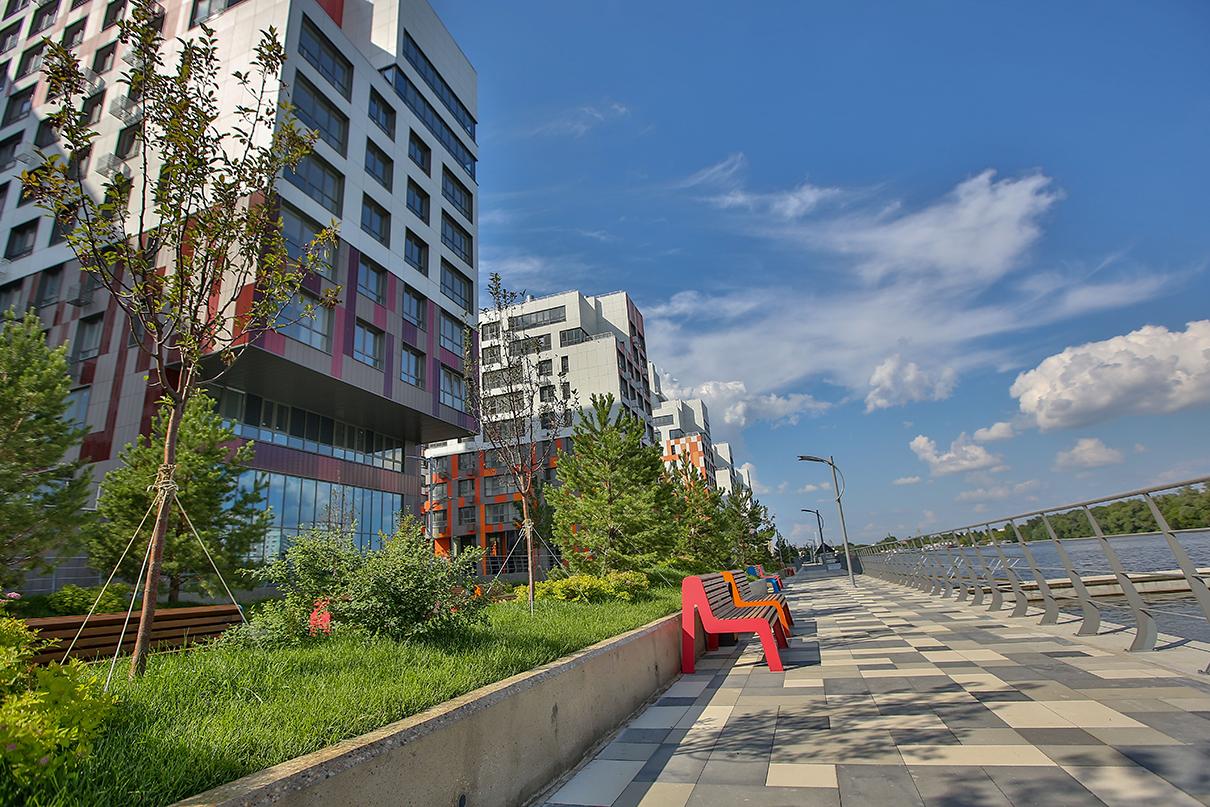 Открытие набережной в жилом комплексе «Ривер Парк»