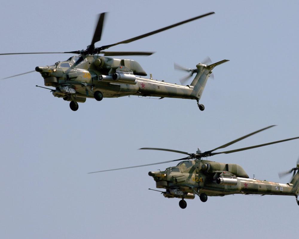 Фото: Вертолеты России