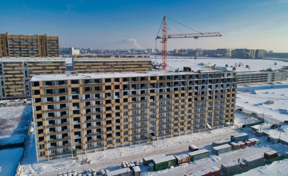 Достроить дом на ул. Новоселов, 113 в ЖК «Москва» планируют в 2022 году