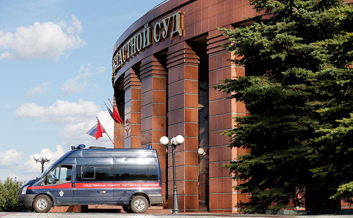 Здание Московского областного суда. 1 августа 2017 года