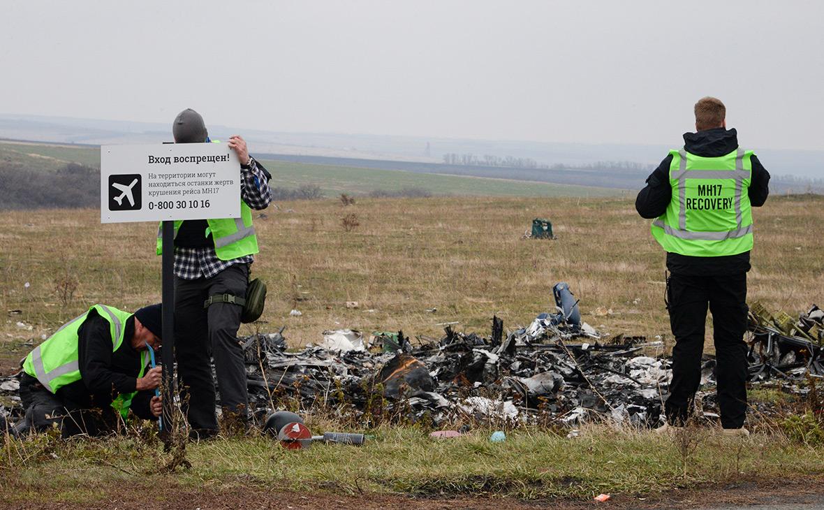 Поисковые работы на месте крушения лайнера, 2014 год