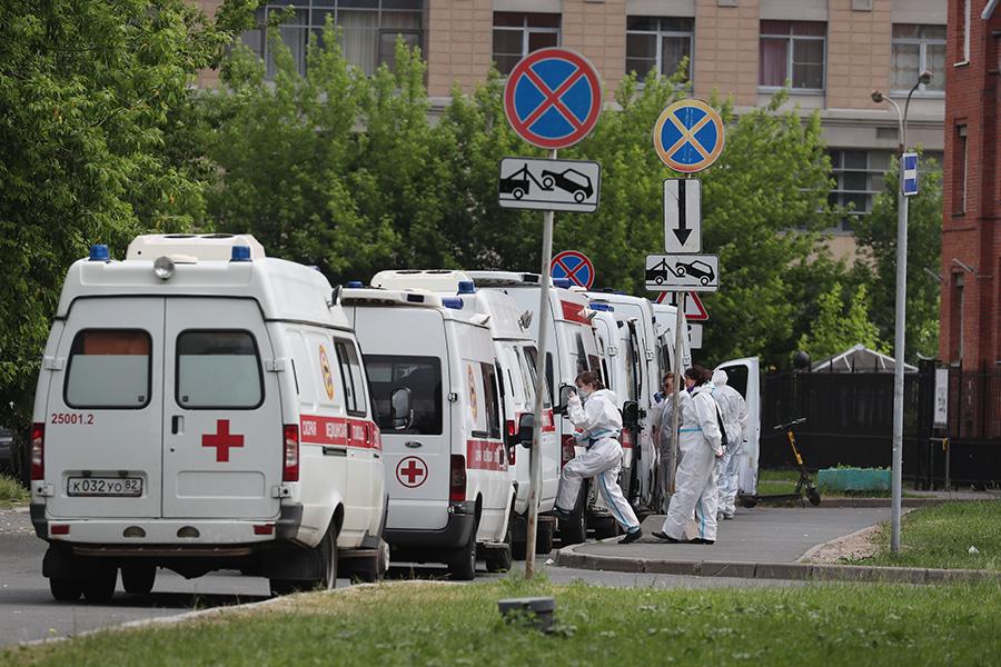 Очередь в Покровскую больницу в Санкт-Петербурге
