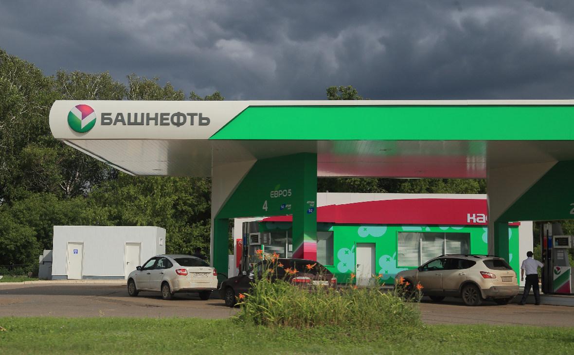 Заправочная станция «Башнефти» в Уфе