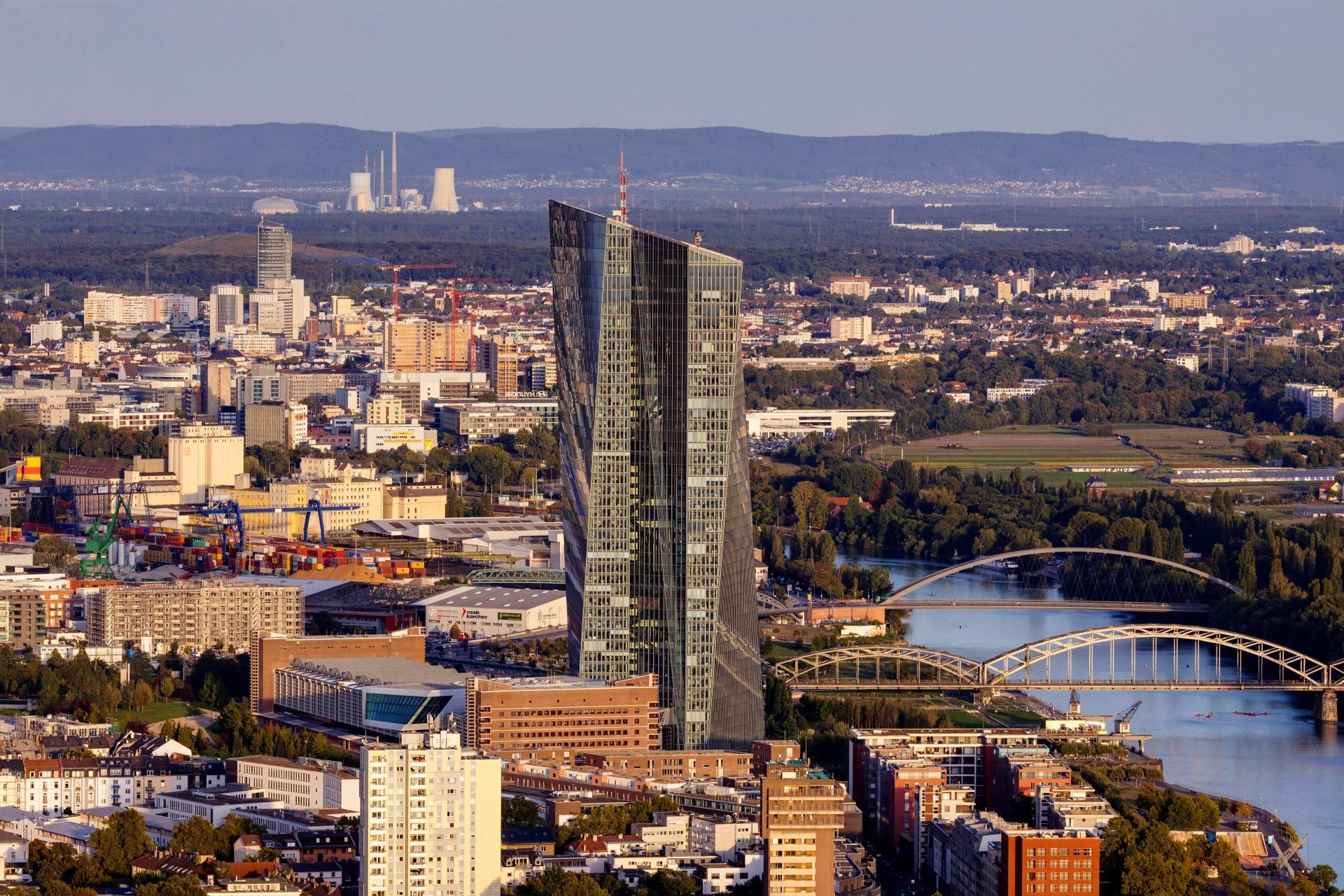 Штаб-квартира Европейского центрального банка (Europäische Zentralbank)