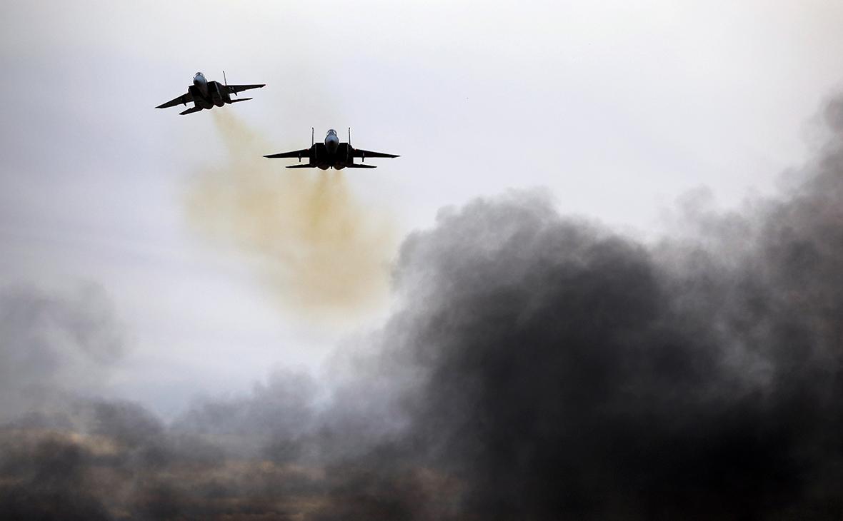 Израильские самолеты F-15. Декабрь 2017 года