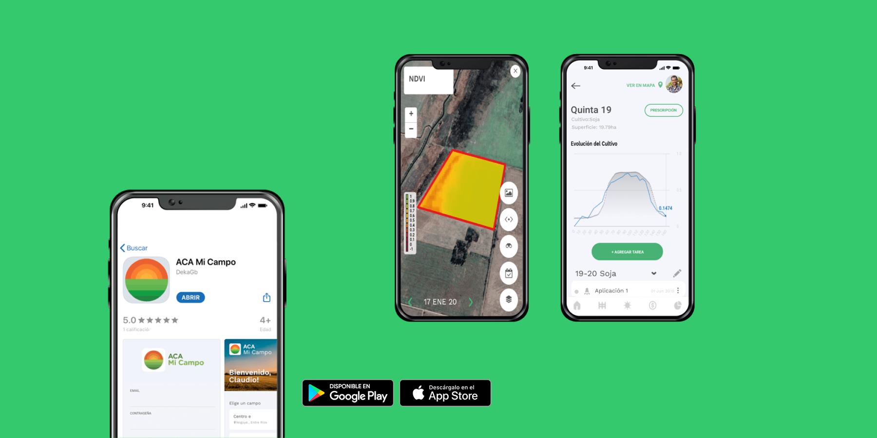 Цифровая платформа для сельского хозяйства ACA Mi Campo