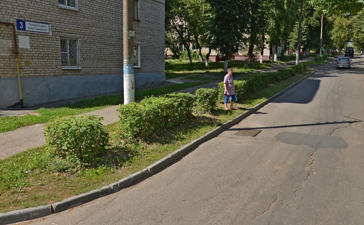 Улица Валентины Терешковой в городе Жашков