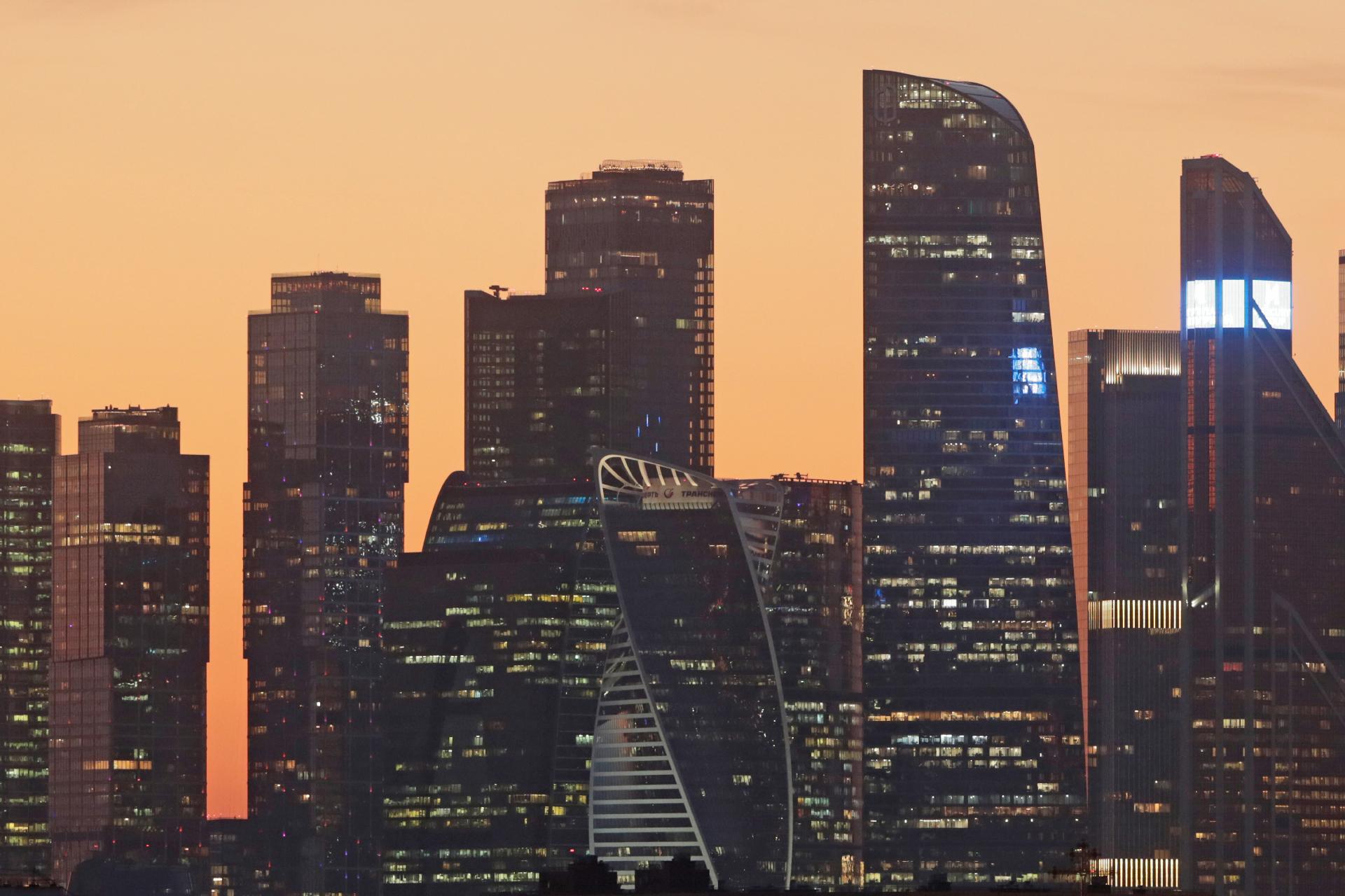 В «Москва-Сити» доля пустующих офисных площадей за квартал снизилась с 6,8% до 3,9%